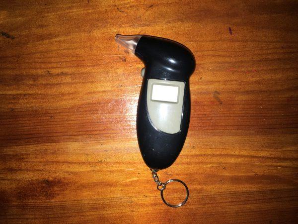 מד אלכוהול דיגיטלי מחזיק מפתחות