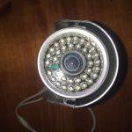 מצלמת אבטחה צינור חיצונית