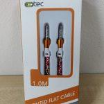 Ecotec flat audio провод 3.5mm